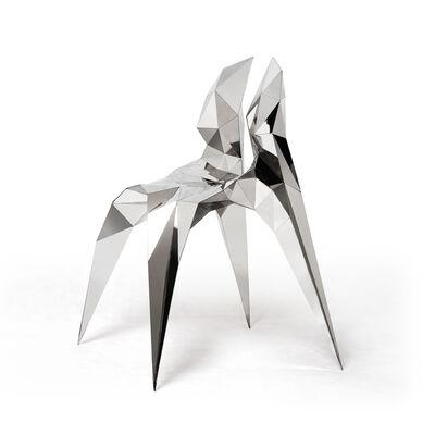 Zhoujie Zhang, 'Split Chair (SQN3-A)', 2011