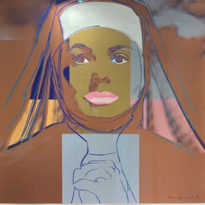 Andy Warhol, 'Ingrid (Nun) F&S II.314 UNIQUE T/P', 1983