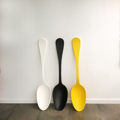 Simone D'Auria, 'Bruno Spoon-White', 2013