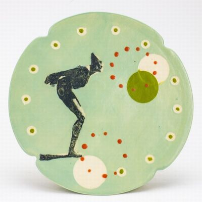 Theresa Robinson, 'Lithograph printed cake pedestal', 2018