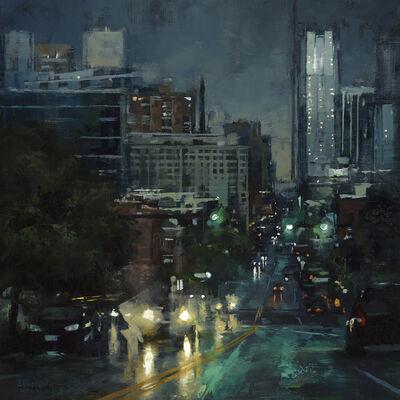 Lindsey Kustusch, 'The City at Dusk', 2018