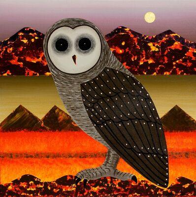 Peter Coad, 'Owl Study - Coorong Moo', 2013-2014