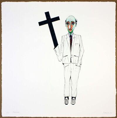 Luis Cruz Azaceta, 'The Preacher', 2011
