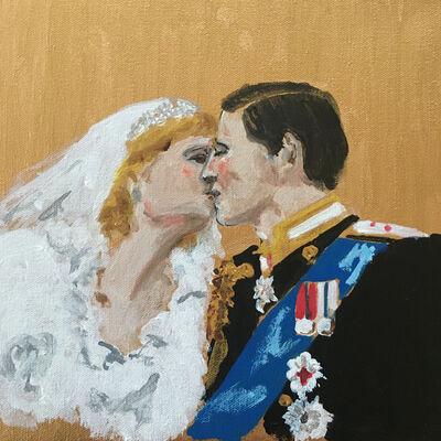manuel santelices, 'The Kiss', 2020
