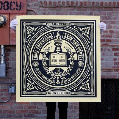 Shepard Fairey, 'Know Your Rights', 2014