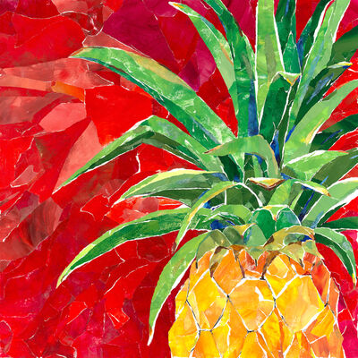 Mary Spears, 'Red Pineapple', 2018