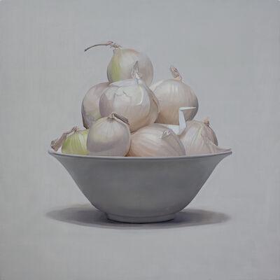 Jonathan Dalton, 'White Swan and White Onions', 2020