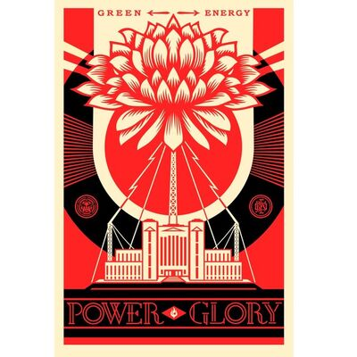 Shepard Fairey, 'Power glory', 2017