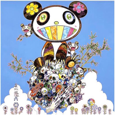 Takashi Murakami, 'Panda Family - Happiness', 2016