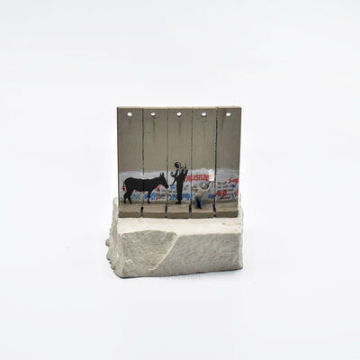 Banksy, 'Walled Off Hotel - Wall Sculpture (Donkey Documents)', 2018