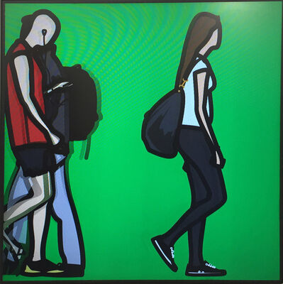Julian Opie, 'People 19', 2015