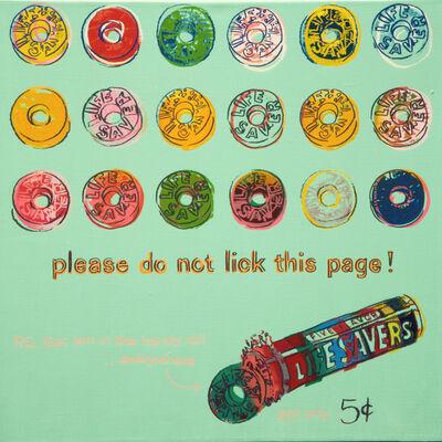 Andy Warhol, 'Life Savers', 1985