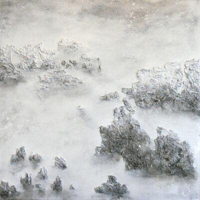 """Joo Eun Bae, '""""Sansuwha"""" paisaje de agua y montaña', 2018"""