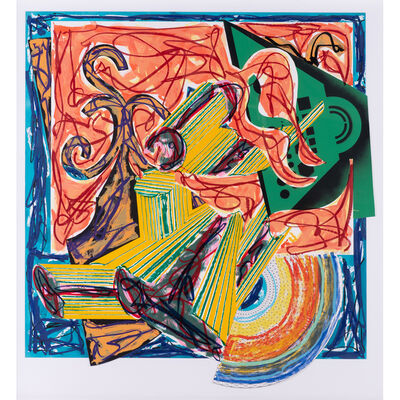 "Frank Stella, 'The Butcher Came and Slew the Ox, after El Lissitzky's ""Had Gadya""', 1984"