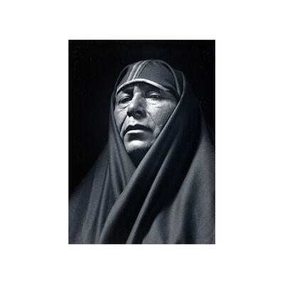Ansel Adams, 'A Man of Taos, Tony Lujan', 1929