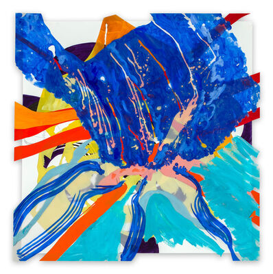 Ellen Priest, 'Jazz Cubano #22: Arturo and Elio, Thinking Out Loud (Abstract painting)', 2014