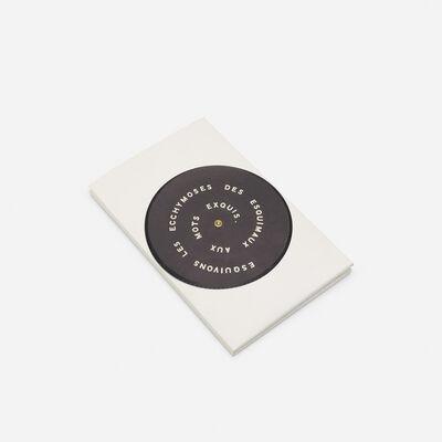 Marcel Duchamp, 'Contrepetrie record album from the S.M.S. Portfolio', 1968