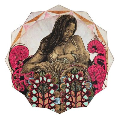 Swoon, 'Dawn and Gemma Mandala', 2016