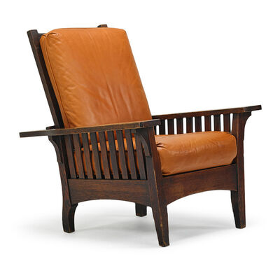 L. & J.G. Stickley, 'Morris chair, Fayetteville, NY', ca. 1902