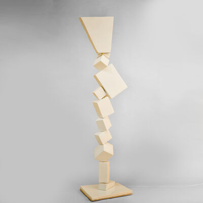 Francois Salem, 'White Cube Floor Lamp', 2017