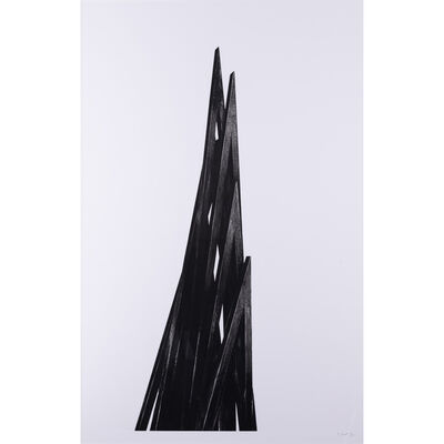 Bernar Venet, 'Nine Acute Uneven Angles', 2017