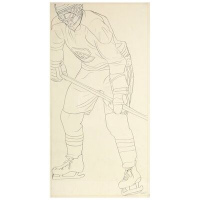 Charles Pachter, 'Hockey Knights in Canada, C.', 1984