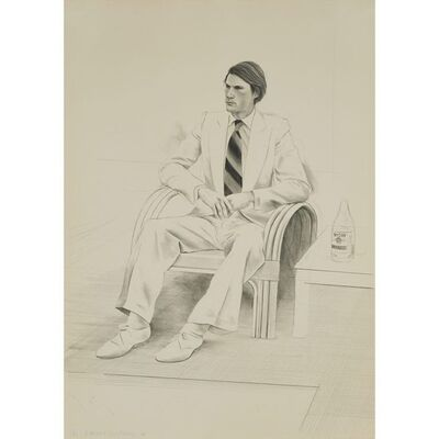 David Hockney, 'Joe McDonald', 1976