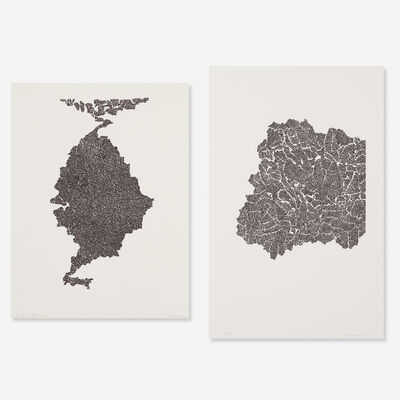 Bruce Conner, 'Untitled (two works)', 1970