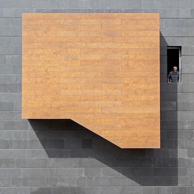 Serge Najjar, 'Shape in Square - Ode to Malevitch', 2014