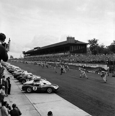 Jesse Alexander, 'Running Start at Nurburgring 1000km Race', 1959