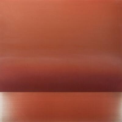 Miya Ando, 'Ephemeral Vermillion', 2015
