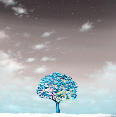 Alexandra Battezzati, 'L'Arbre et la neige', 2019