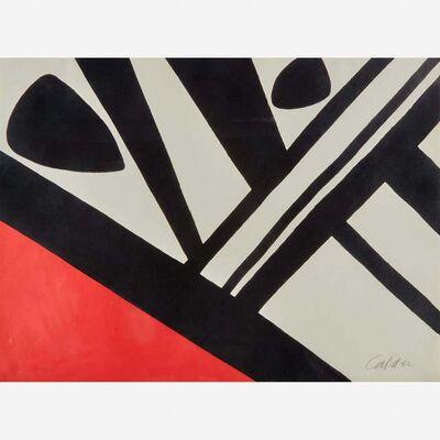 Alexander Calder, 'Acier du Constructeur', 1965