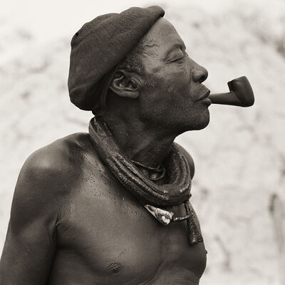 Dana Gluckstein, 'Himba Headman, Namibia', 2007