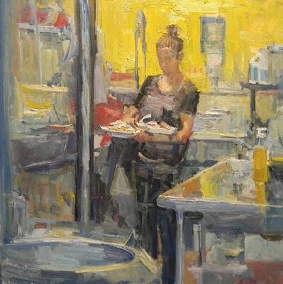 Mikael Olson, 'Yellow Kitchen', 2016