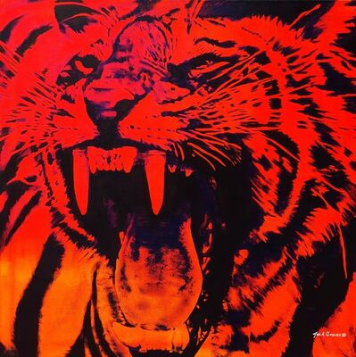 Jack Graves III, 'Tiger Icon', 2021