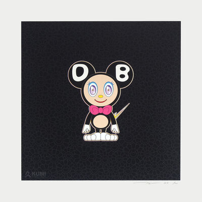 Takashi Murakami, 'Black DOB ', 2020