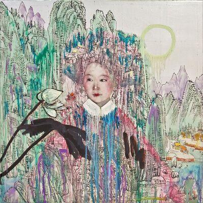 Hung Liu, 'Blue Mountain'