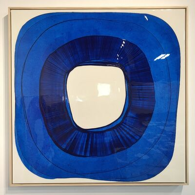 Ted Collier, 'Circle Series 4 (Full Gloss Blue)', 2019