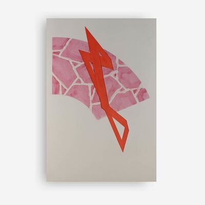 Richard Smith, 'Coup de Theatre (Magenta/Red)', 1985