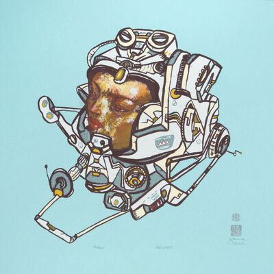 David Choe, 'Helmet', 2007
