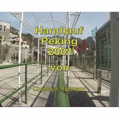 Christoph Rütimann, 'Handlauf Peking', 2001