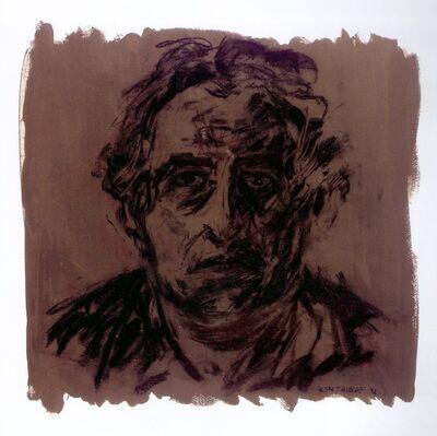 William Kentridge, 'Untitled (Self-Portrait)', 1992