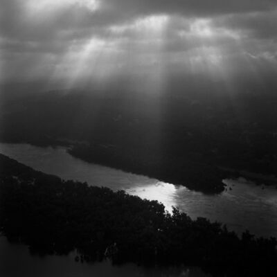 Brandon Thibodeaux, 'Mississippi River, Vicksburg,Mississippi', 2011