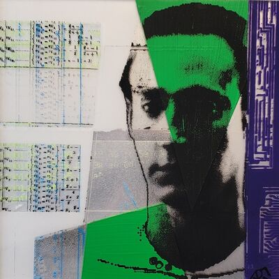 Andrew Roberts-Gray, 'Scanner Darkly #16 (green Data)', 2020