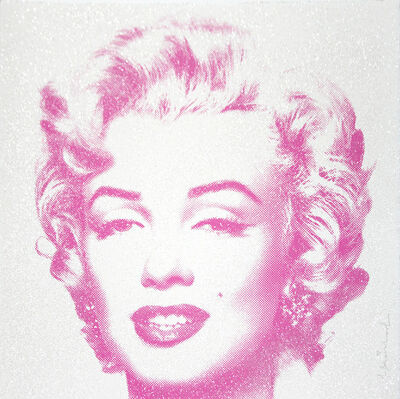 Mr. Brainwash, 'Diamond Girl (Purple) - Marilyn Monroe', 2016