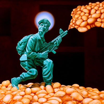 Jens Heller, 'UNTITLED (SOLDIER WITH BAKED BEANS)', 2017