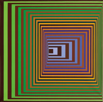 Victor Vasarely, 'Vonal-Stri', 1975