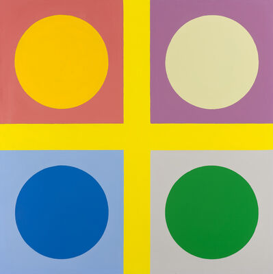 Poul Gernes, 'Untitled (tic tac toe painting)', 1966-1967