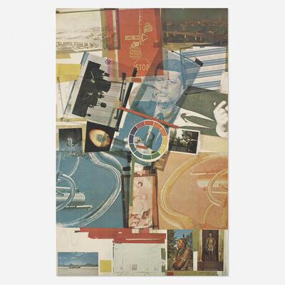 Robert Rauschenberg, 'Core Poster', 1965